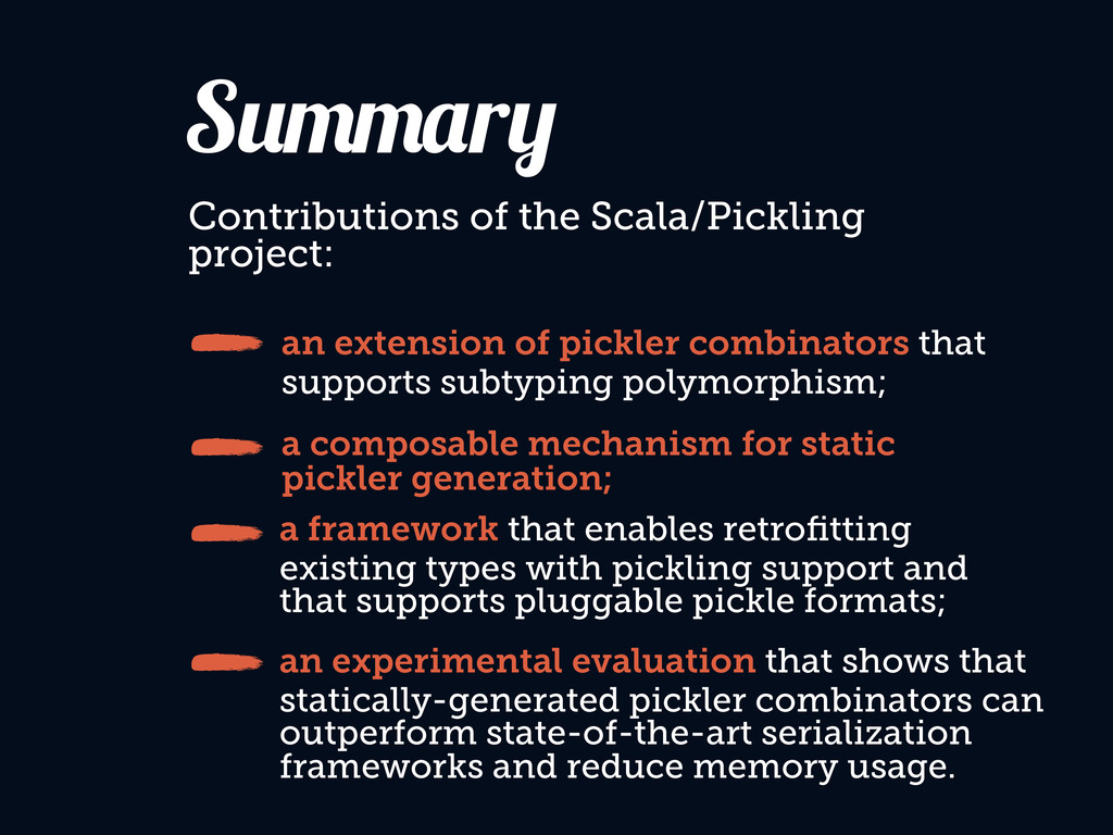 an extension of pickler combinators that suppor...