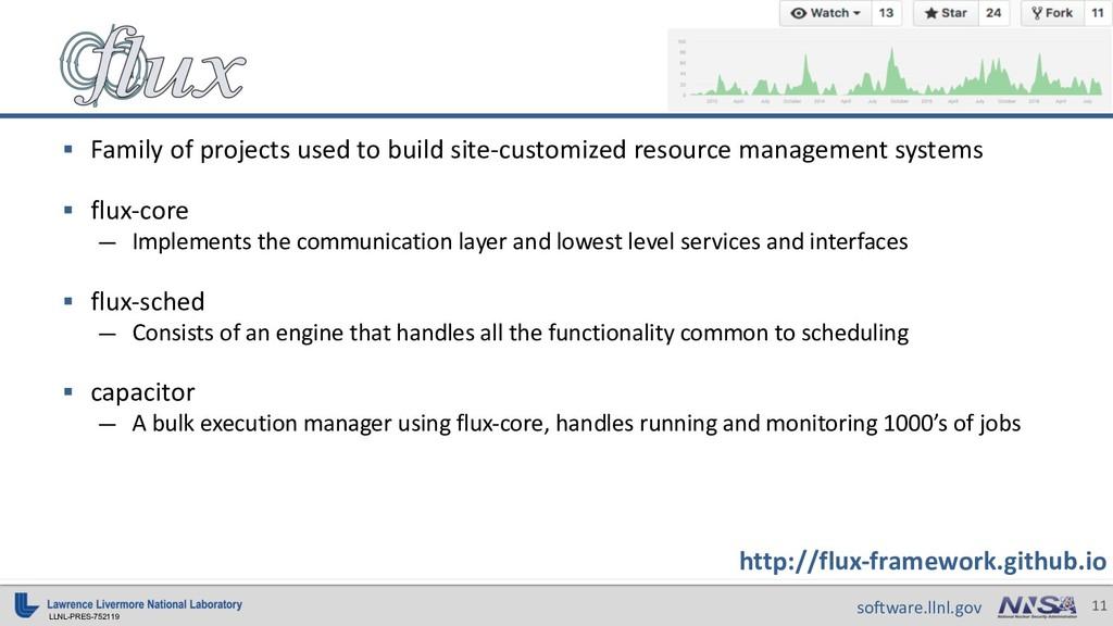 LLNL-PRES-752119 11 software.llnl.gov http://fl...