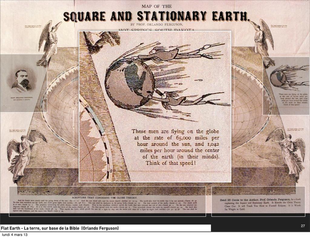 Flat Earth - La terre, sur base de la Bible (Or...