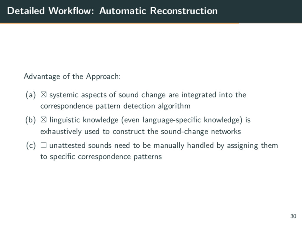 Detailed Workflow: Automatic Reconstruction Adv...