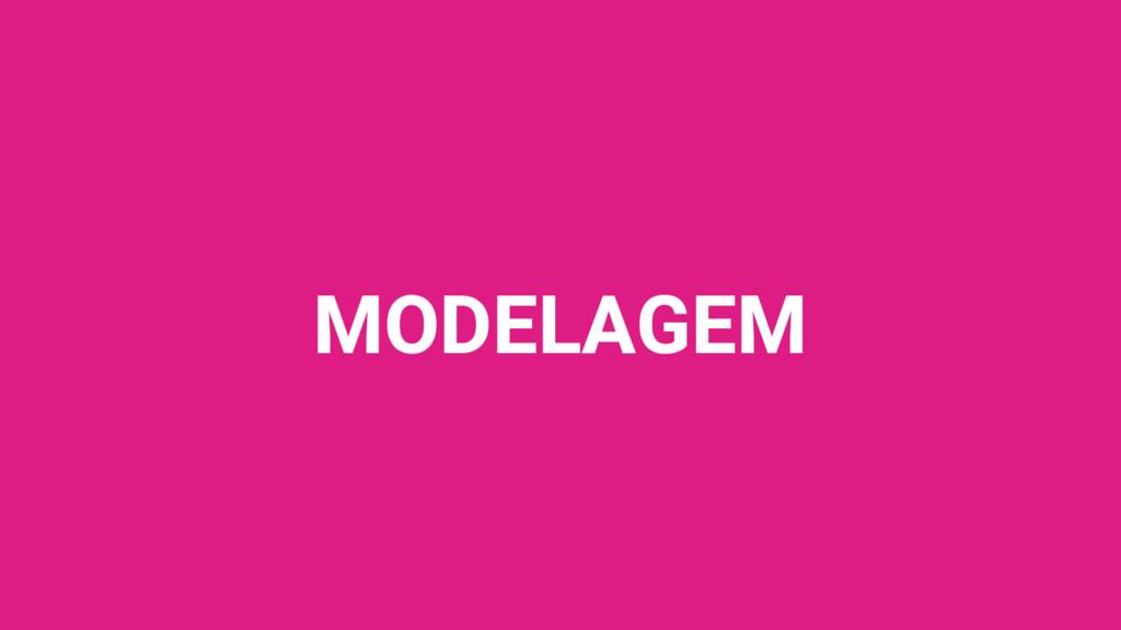 MODELAGEM