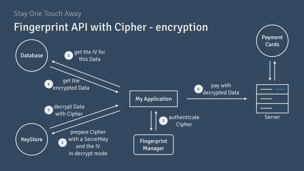 Stay One Touch Away Fingerprint API with Cipher...