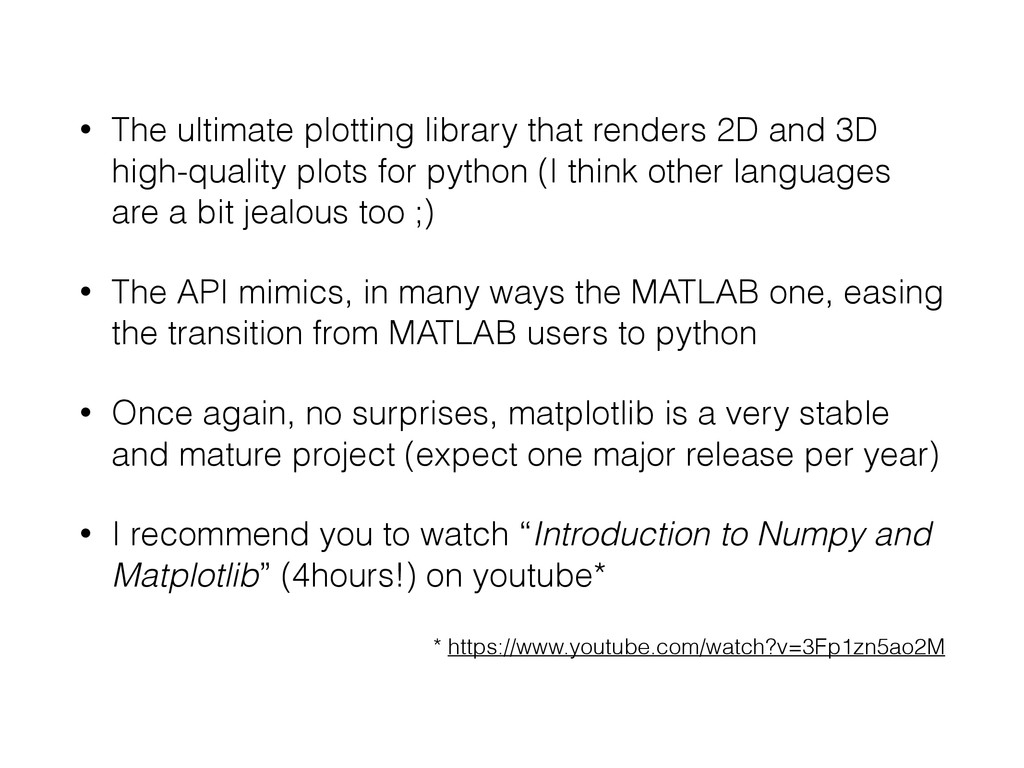 • The ultimate plotting library that renders 2D...