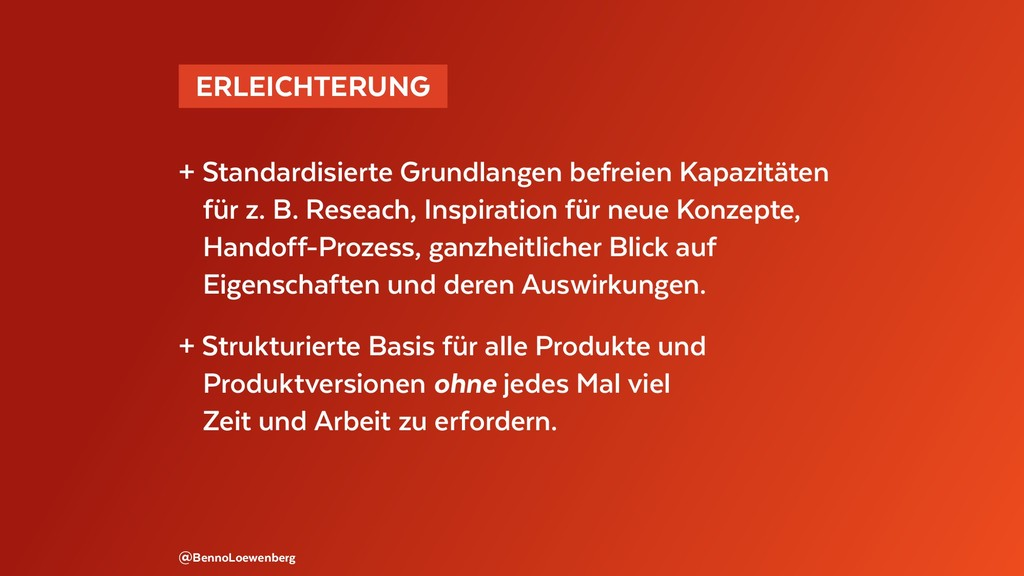 @BennoLoewenberg + Standardisierte Grundlangen ...