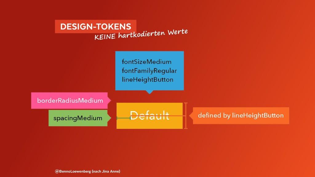 DESIGN-TOKENS @BennoLoewenberg (nach Jina Ann...