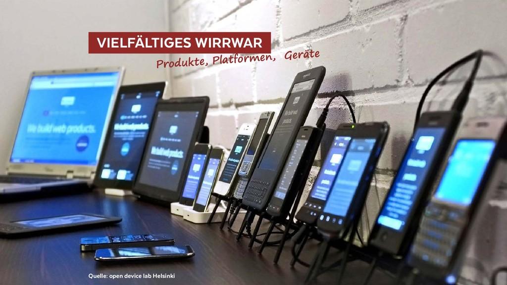 VIELFÄLTIGES WIRRWAR Quelle: open device lab...