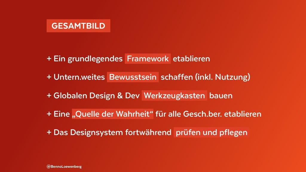 GESAMTBILD + Ein grundlegendes Framework etab...