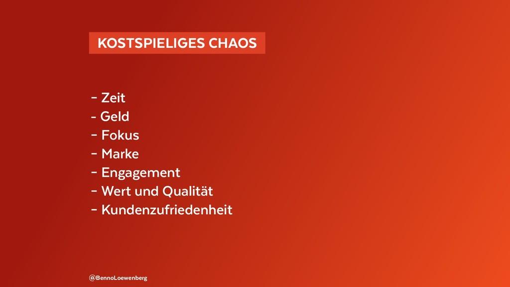 @BennoLoewenberg – Zeit - Geld – Fokus – Marke ...