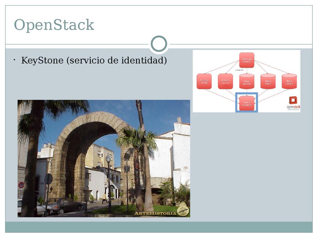 OpenStack  KeyStone (servicio de identidad)