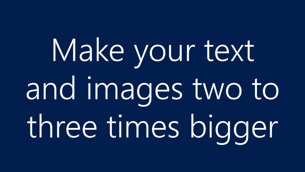 Make your text 