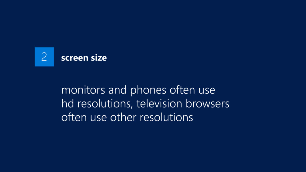 screen size monitors and phones often use 