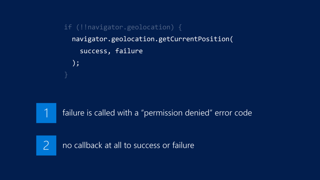"""failure is called with a """"permission denied"""" er..."""