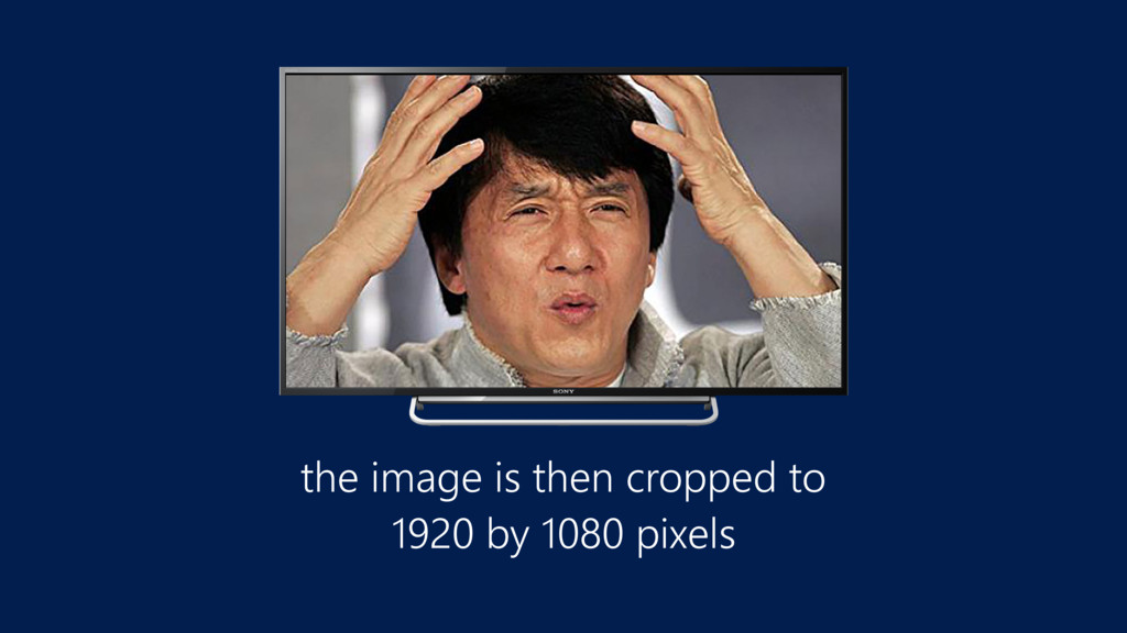 the image is then cropped to 