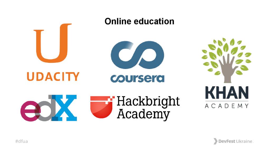 #dfua Online education