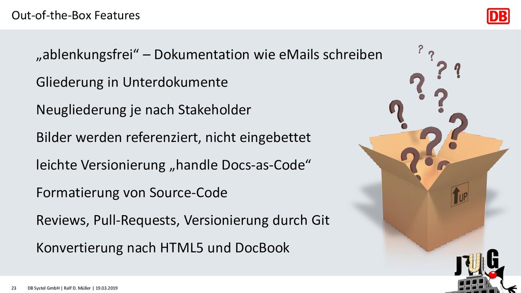 """Out-of-the-Box Features """"ablenkungsfrei"""" – Doku..."""