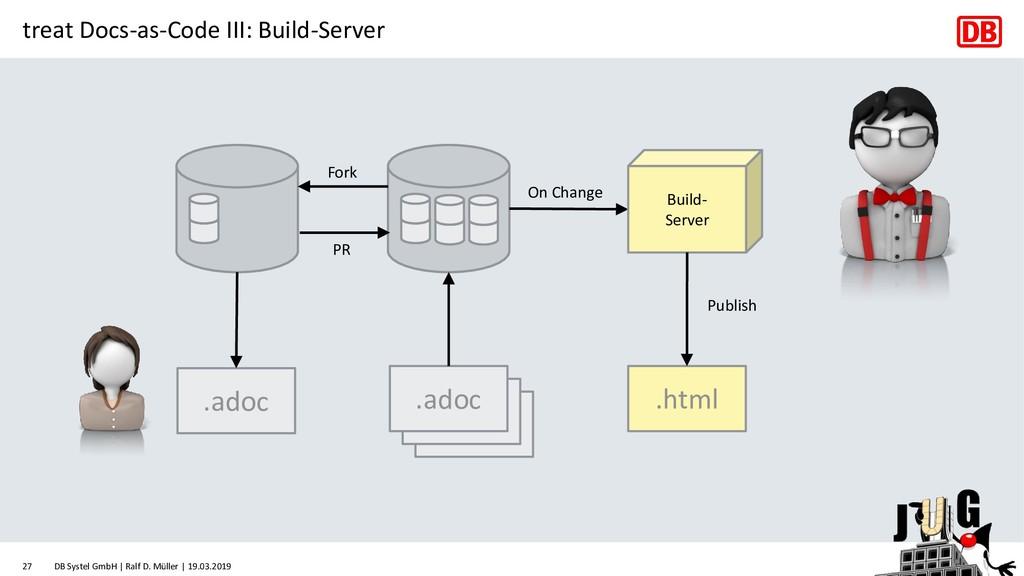 treat Docs-as-Code III: Build-Server .adoc .ado...
