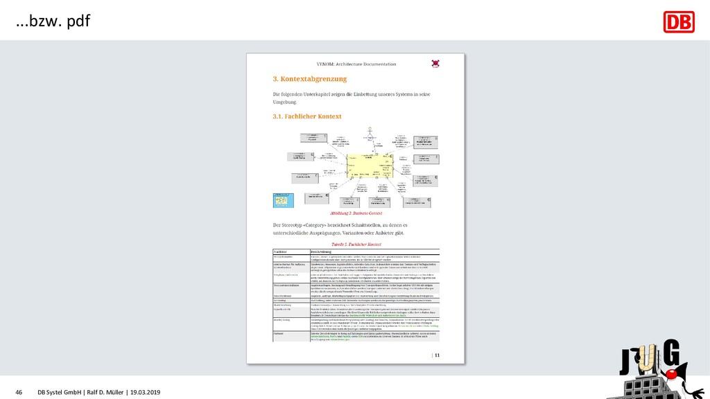 ...bzw. pdf DB Systel GmbH | Ralf D. Müller | 1...