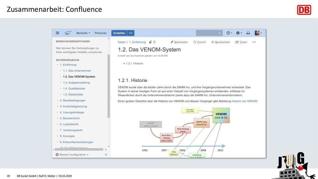 Zusammenarbeit: Confluence DB Systel GmbH | Ral...