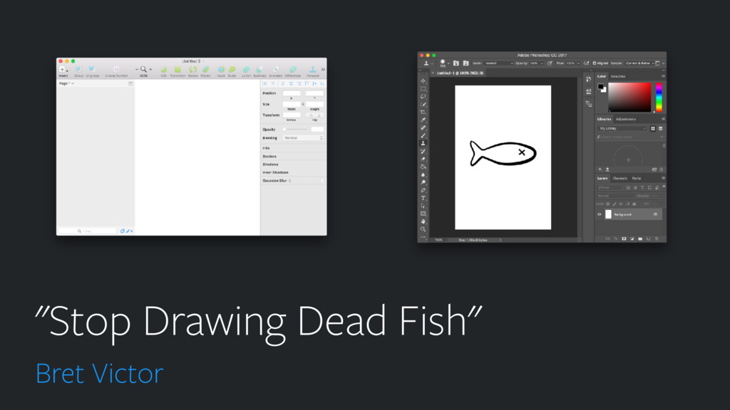 """""""Stop Drawing Dead Fish"""" Bret Victor"""