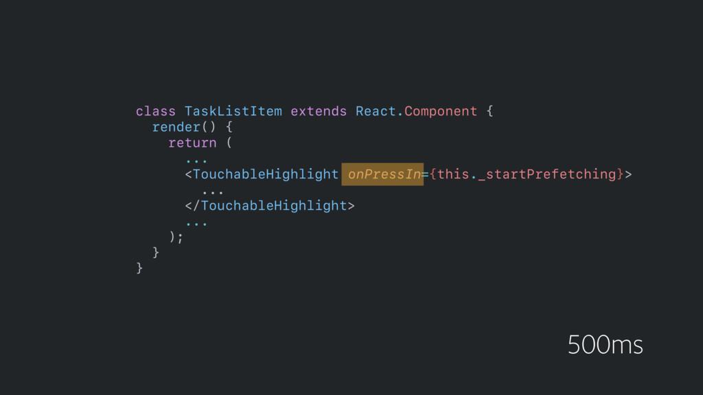 class TaskListItem extends React.Component {  ...