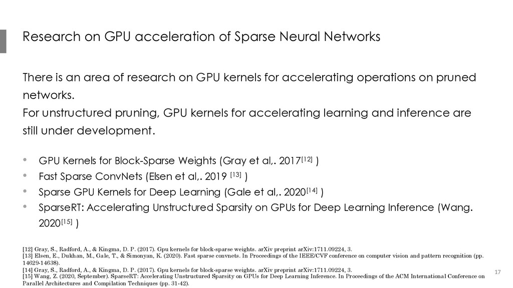 Research on GPU acceleration of Sparse Neural N...