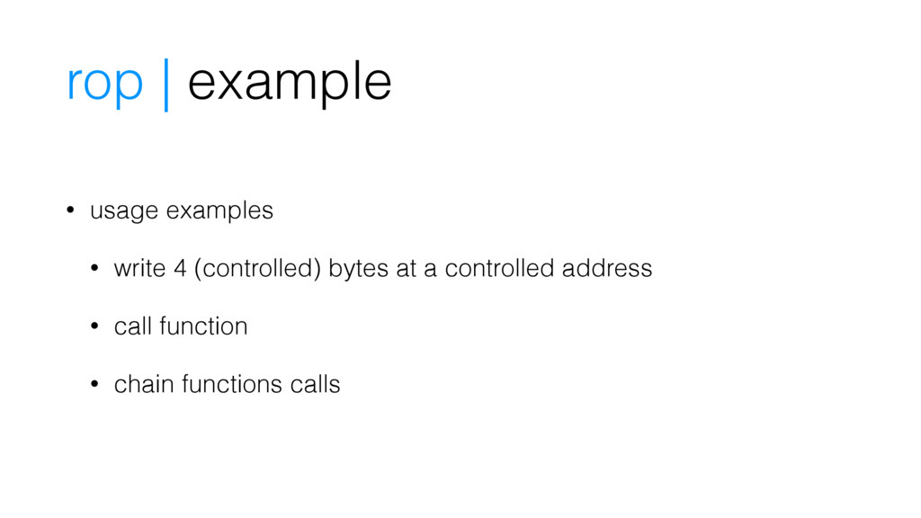 rop | example • usage examples • write 4 (contr...