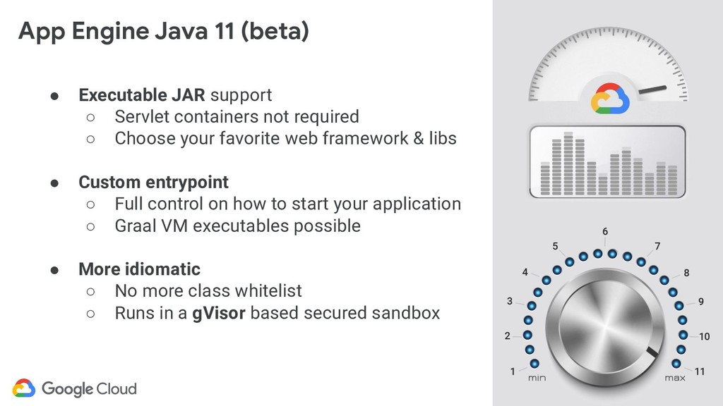 @glaforge App Engine Java 11 (beta) ● Executabl...