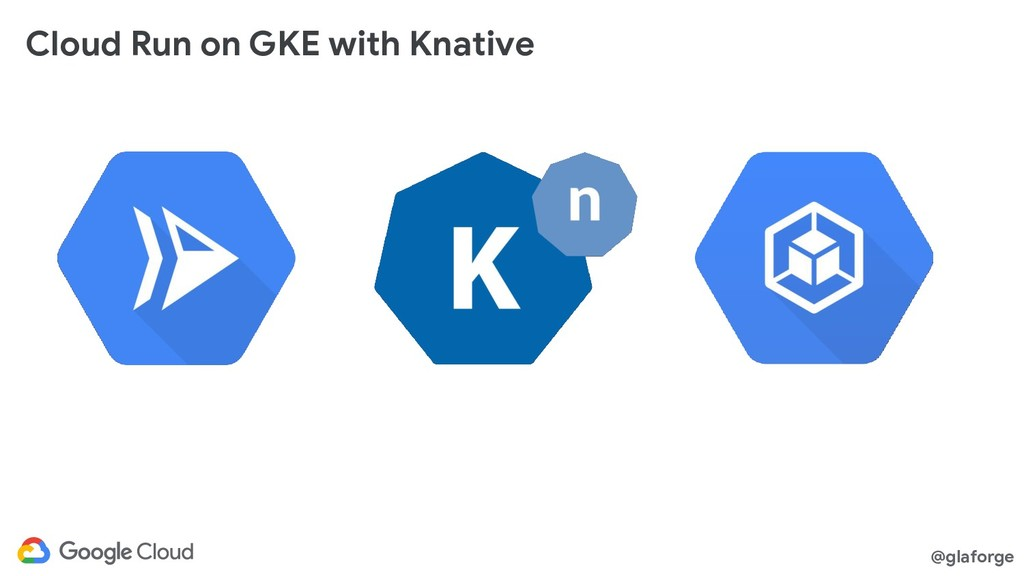 @glaforge Cloud Run on GKE with Knative