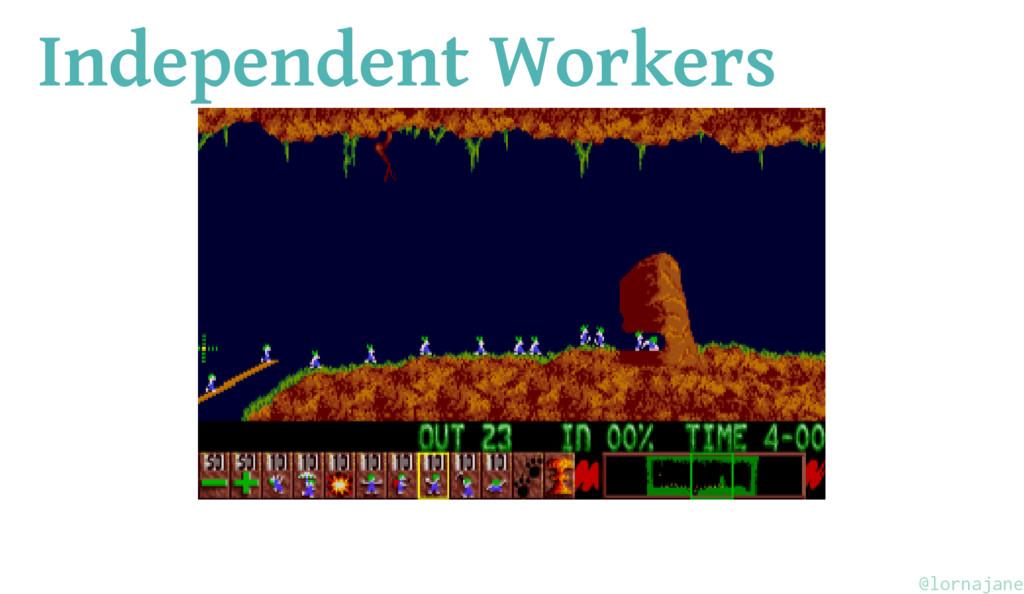 Independent Workers @lornajane
