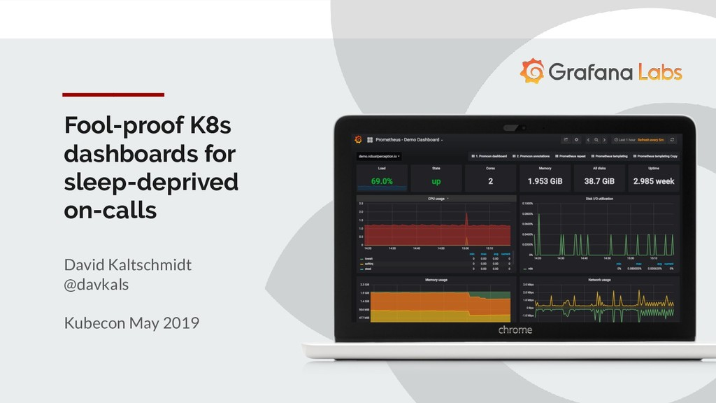 Fool-proof K8s dashboards for sleep-deprived on...