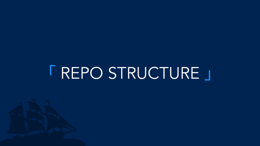 「 REPO STRUCTURE 」