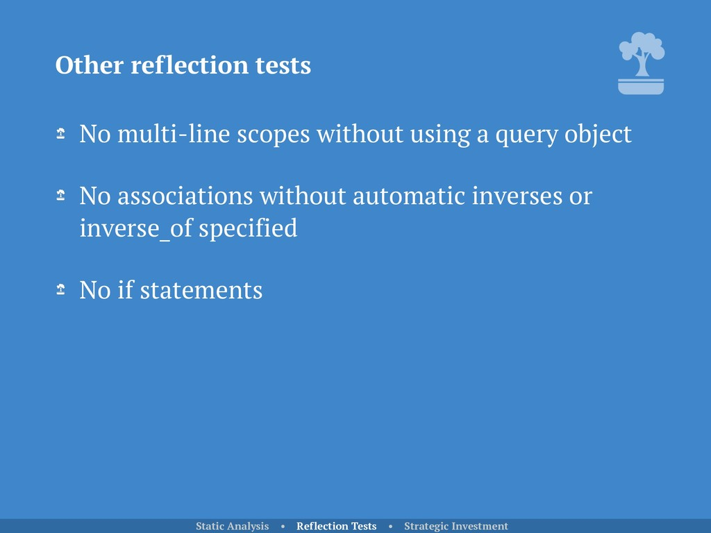No multi-line scopes without using a query obje...