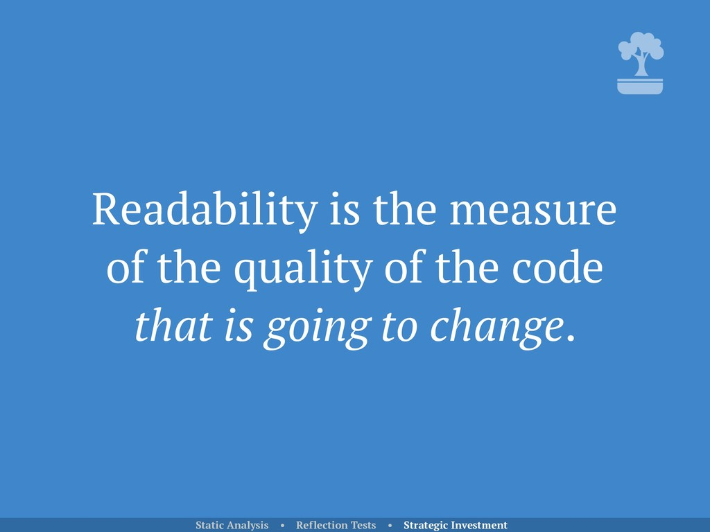 Readability is the measure of the quality of th...
