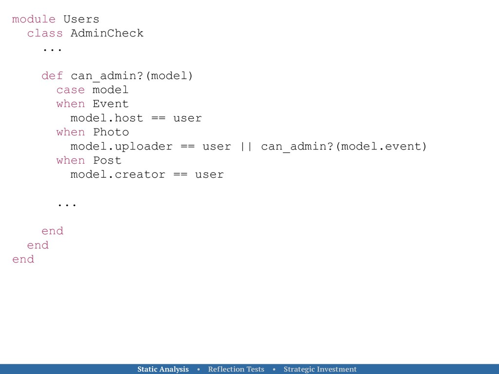 module Users class AdminCheck ... def can_admin...