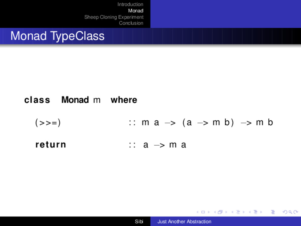 Introduction Monad Sheep Cloning Experiment Con...