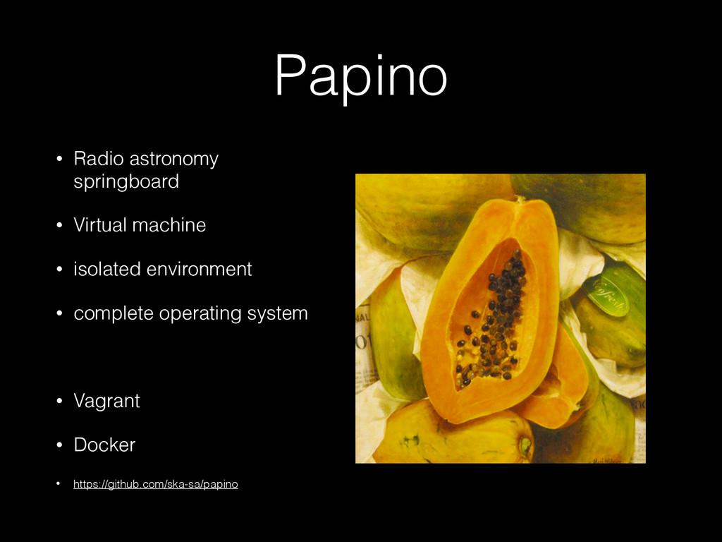 Papino • Radio astronomy springboard • Virtual ...