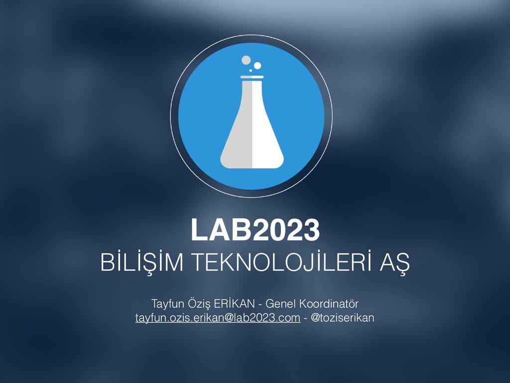 LAB2023 BİLİŞİM TEKNOLOJİLERİ AŞ Tayfun Öziş ER...