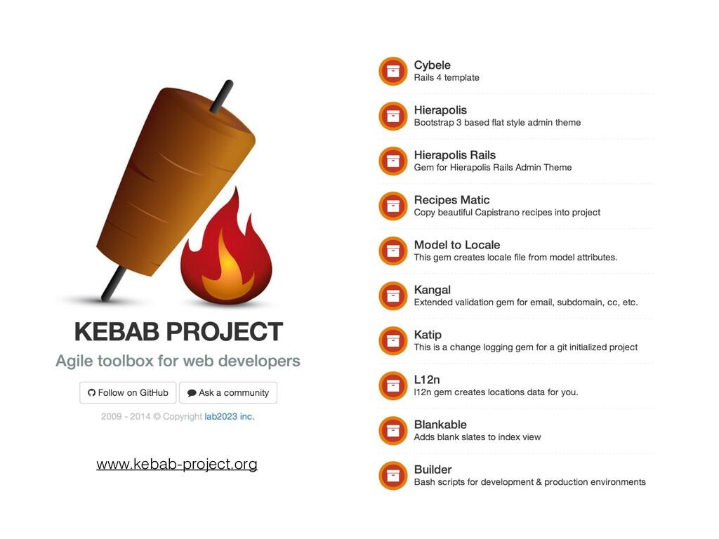www.kebab-project.org