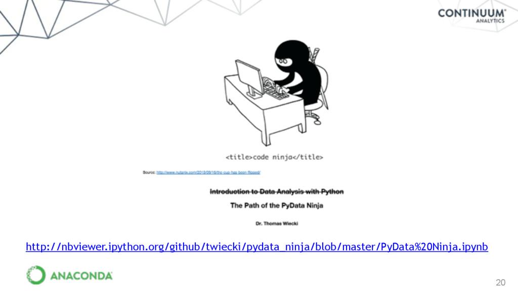 20 http://nbviewer.ipython.org/github/twiecki/p...