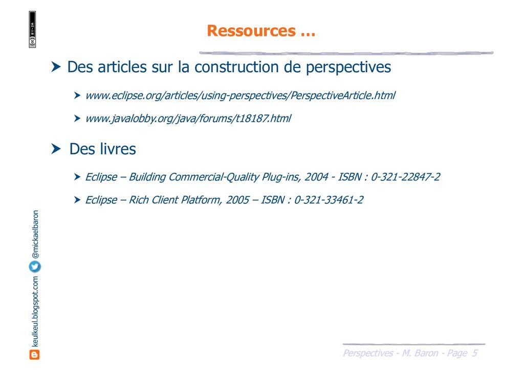 5 Perspectives - M. Baron - Page keulkeul.blogs...