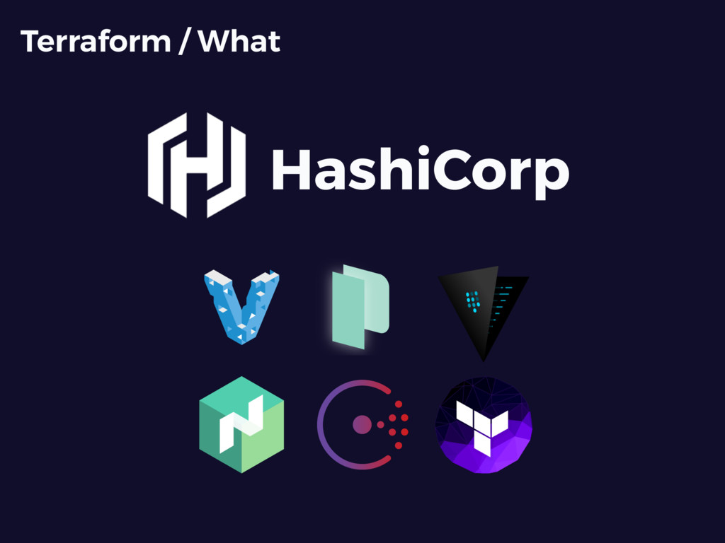 HashiCorp Terraform / What