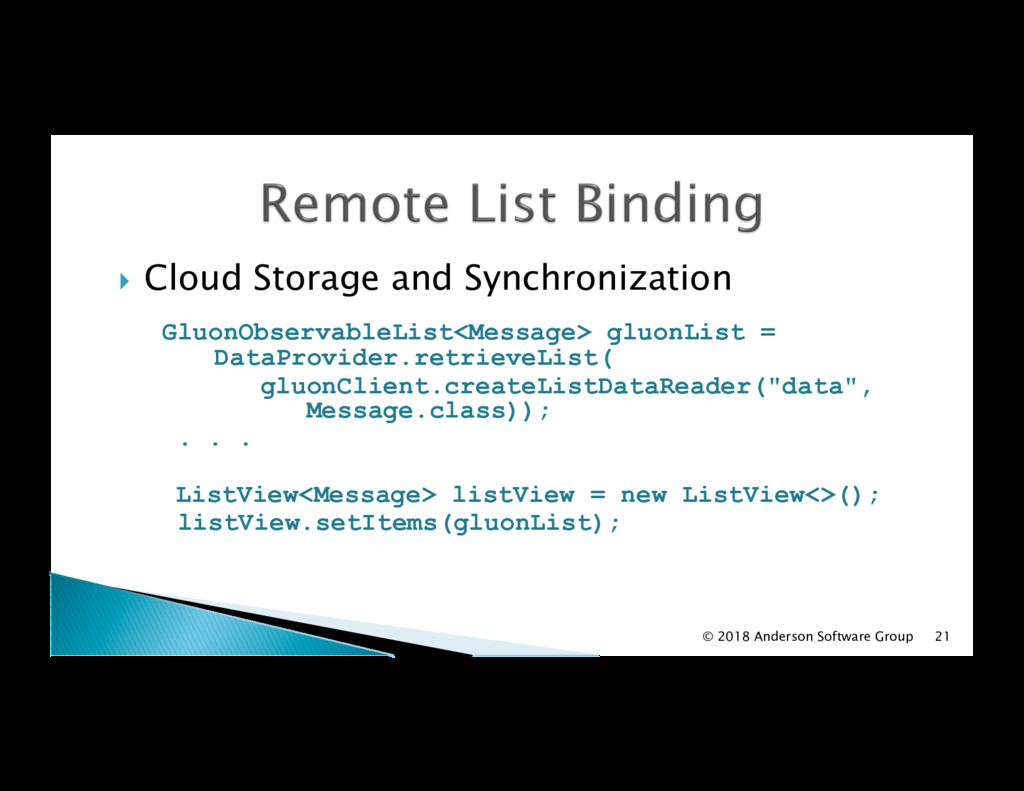 !  Cloud Storage and Synchronization GluonObser...