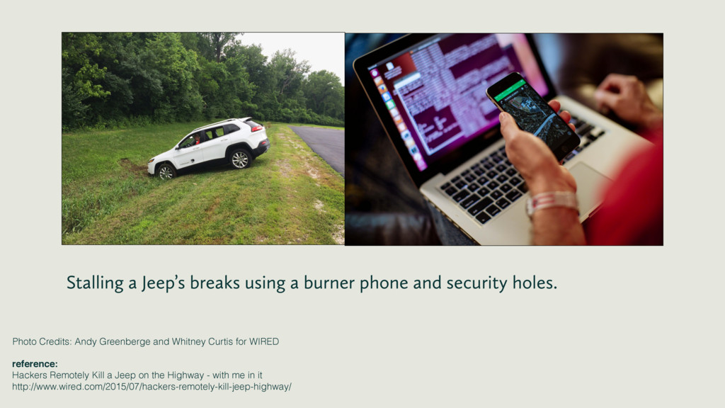 Stalling a Jeep's breaks using a burner phone a...
