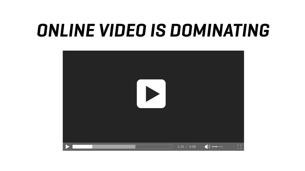 ONLINE VIDEO IS DOMINATING