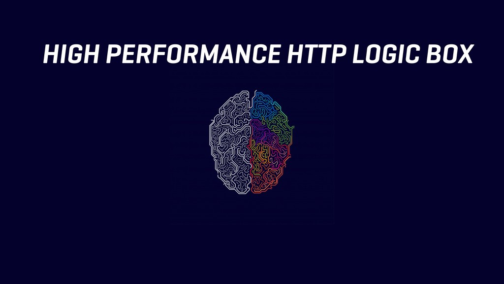 HIGH PERFORMANCE HTTP LOGIC BOX