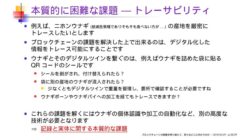 — ( . . . ) QR ⇒ — 2018-05-29 – p.28/29