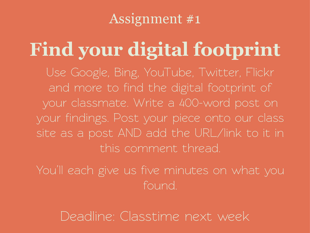 Use Google, Bing, YouTube, Twitter, Flickr and ...