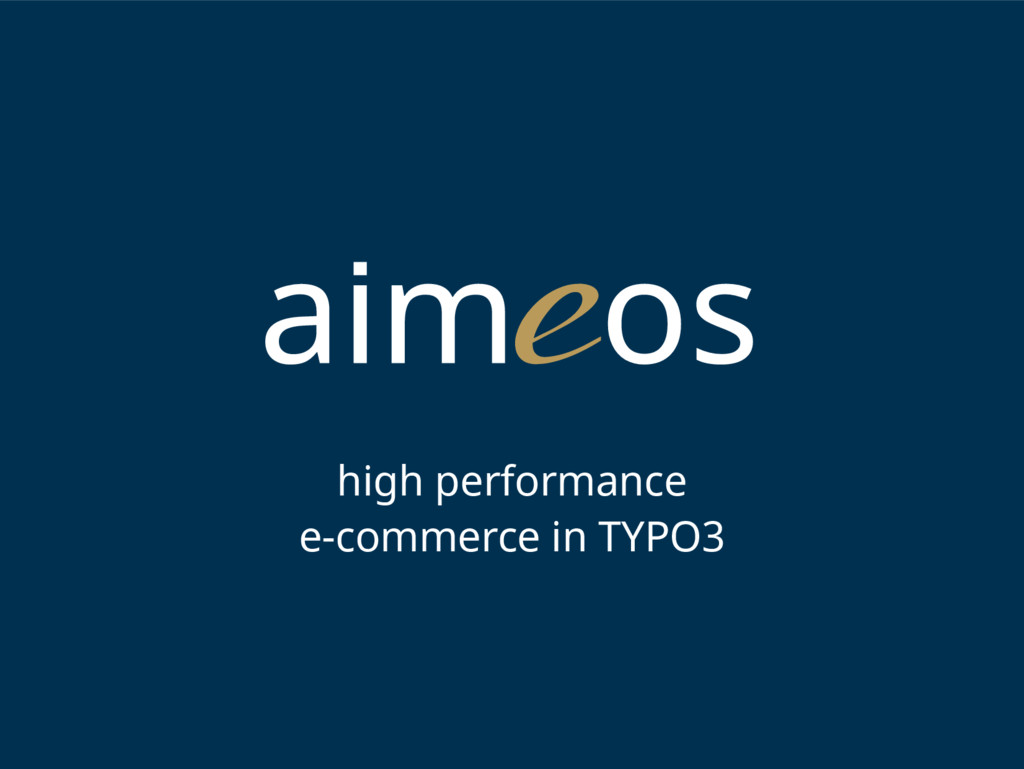high performance e-commerce in TYPO3