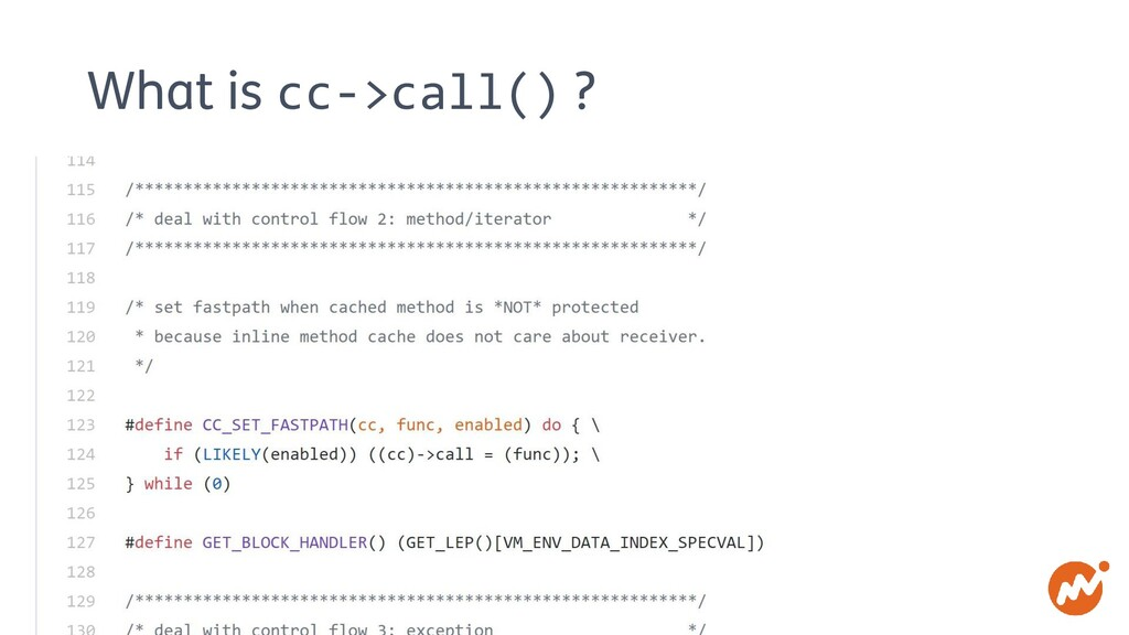 What is cc->call() ?