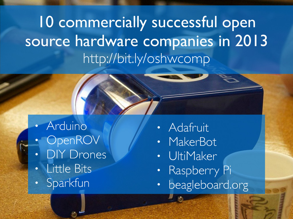 10 commercially successful open source hardware...